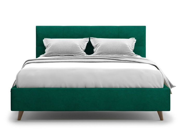 Кровать Garda 140х200 зеленого цвета