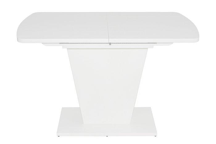 Стол обденный раздвижной Sheldon белого цвета