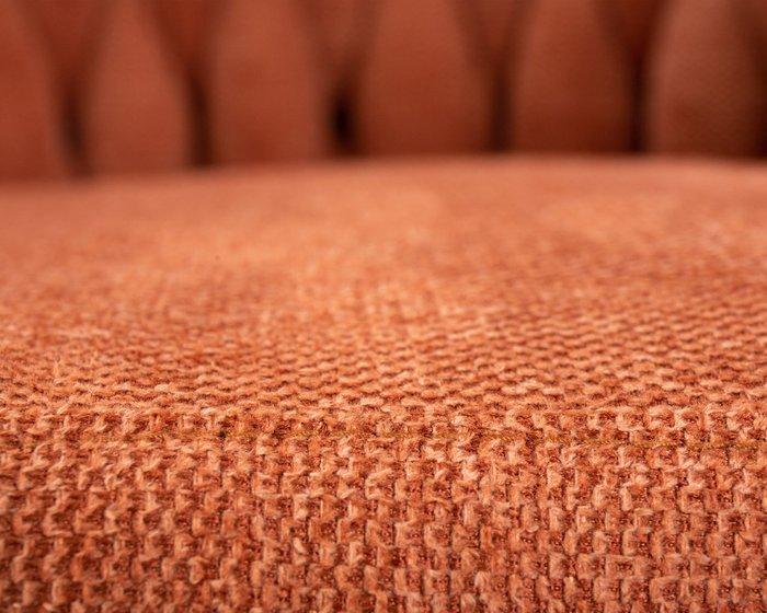 Стул барный Leon оранжевого цвета