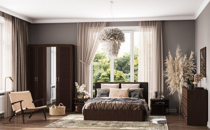 Кровать Магна 180х600 с серым изголовьем и подъемным механизмом