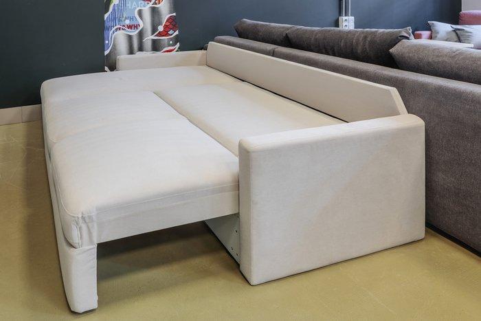 Угловой диван-кровать Винс фиолетового цвета