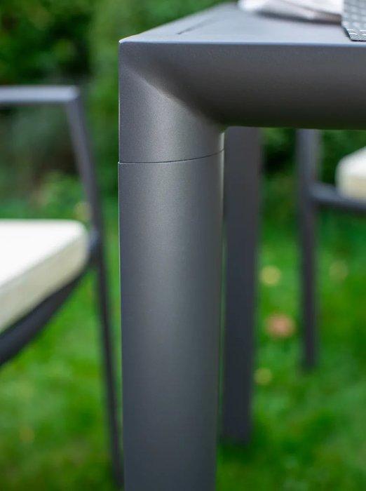 Стол Toronto антрацитового цвета