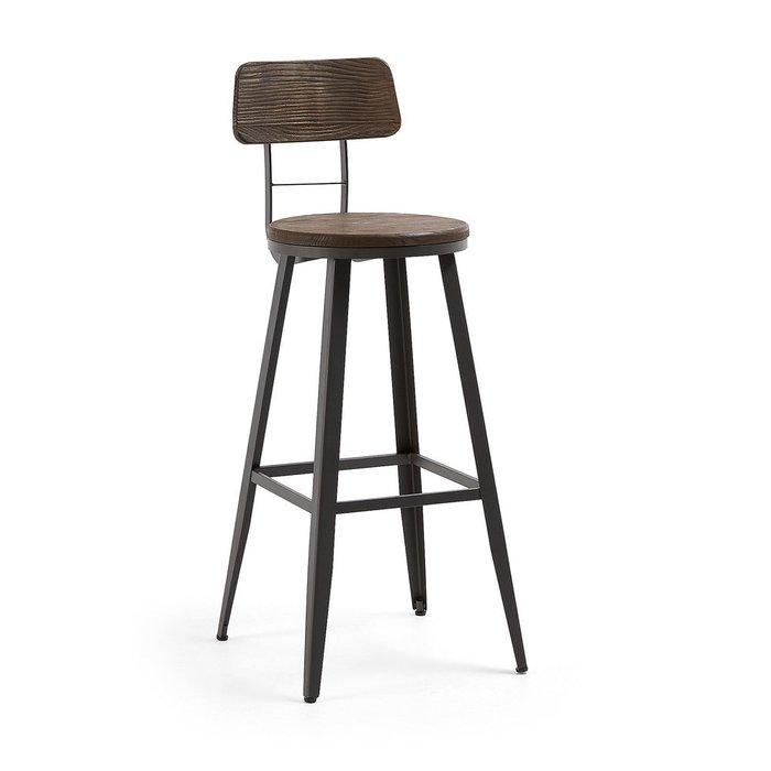 Барный стул Malinda из металла и дерева