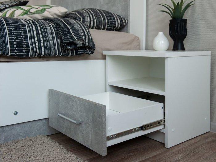 Кровать Аврора 120х200 белого цвета
