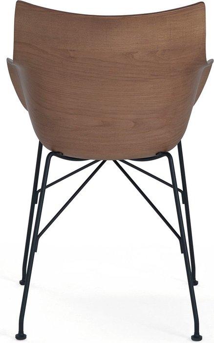 Кресло цвета ясень темный