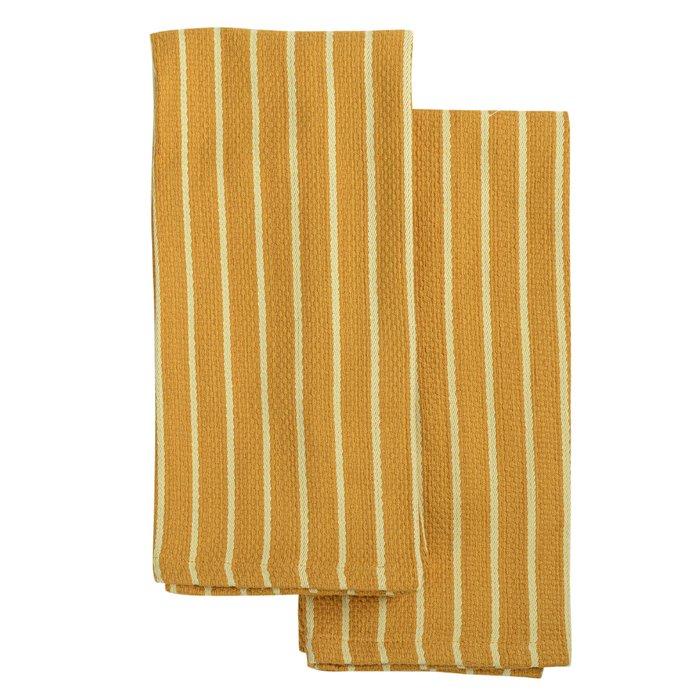 Набор кухонных полотенец essential цвета шафрана