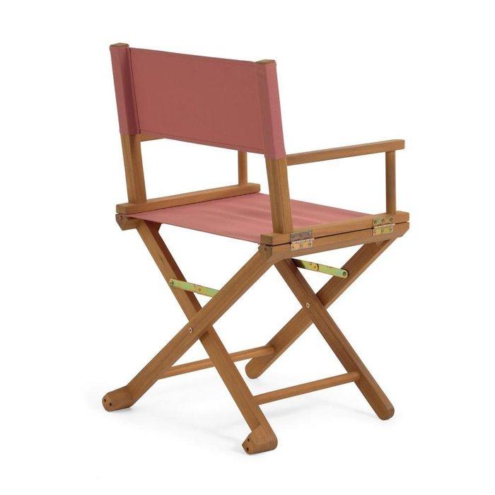 Складной стул Dalisa розового цвета