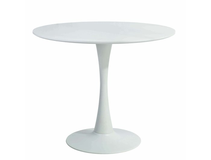 Стол обеденный Alma белого цвета