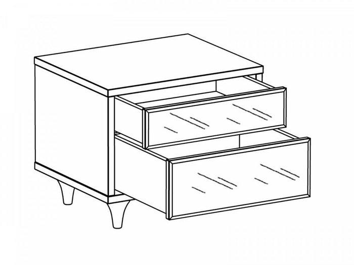 Тумба Cloud с двумя выдвижным ящиками