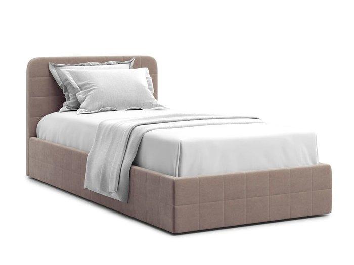 Кровать с подъемным механизмом Adda 90х200 темно-бежевого цвета