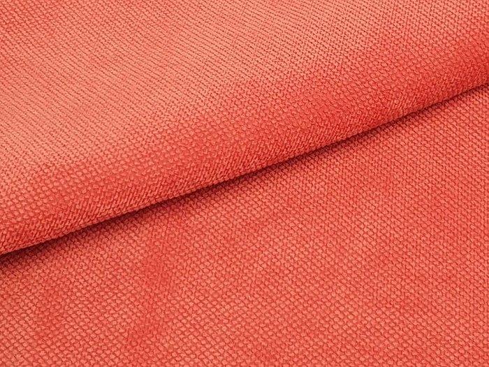 Прямой диван-кровать Сенатор кораллового цвета
