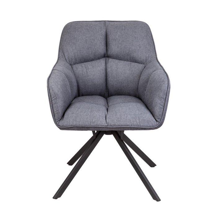 Кресло поворотное Virginia темно-серого цвета