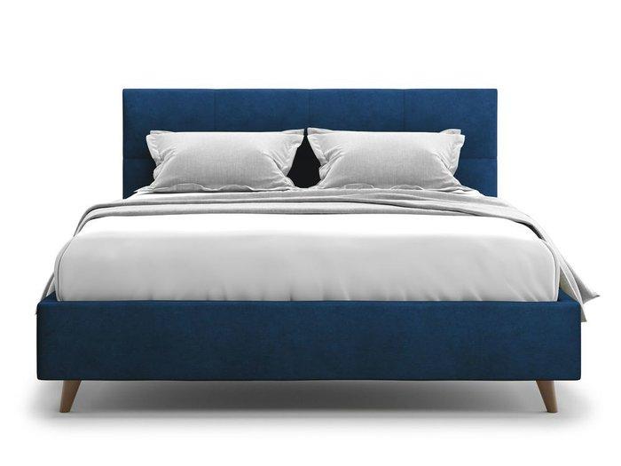 Кровать Garda 180х200 синего цвета