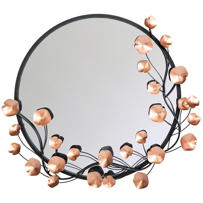 Настенное зеркало Милада Роуз из металла