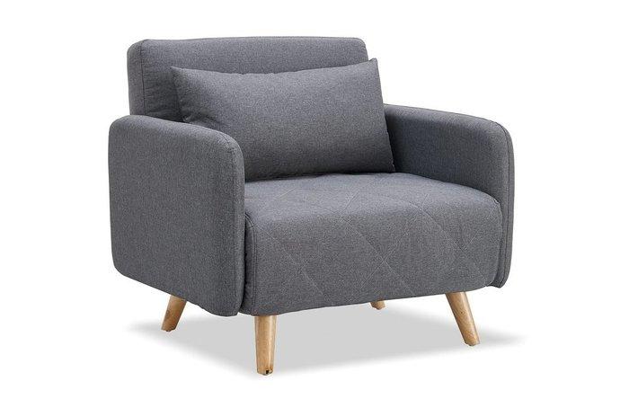Кресло-кровать Cardiff темно-серого цвета