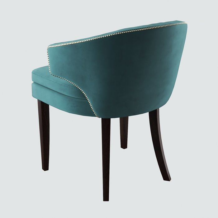 Стул-кресло Verbena зеленого цвета