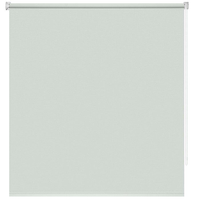 Рулонная штора Миниролл Апилера Пыльная лазурь 120x160