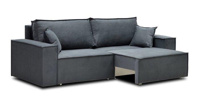 Диван-кровать Фабио серого цвета