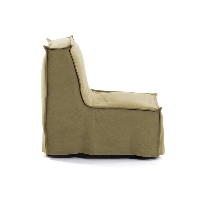 Кресло-кровать Lyanna коричневого цвета