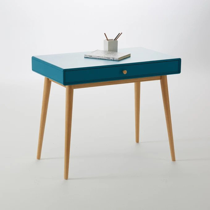 Письменный стол Jimi синего цвета