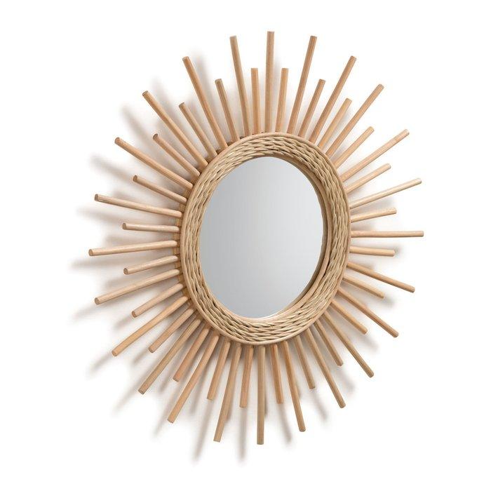 Зеркало Natural Marelli mirror в деревянной раме