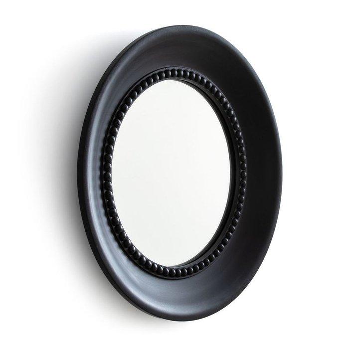 Настенное зеркало Afsan в деревянной раме