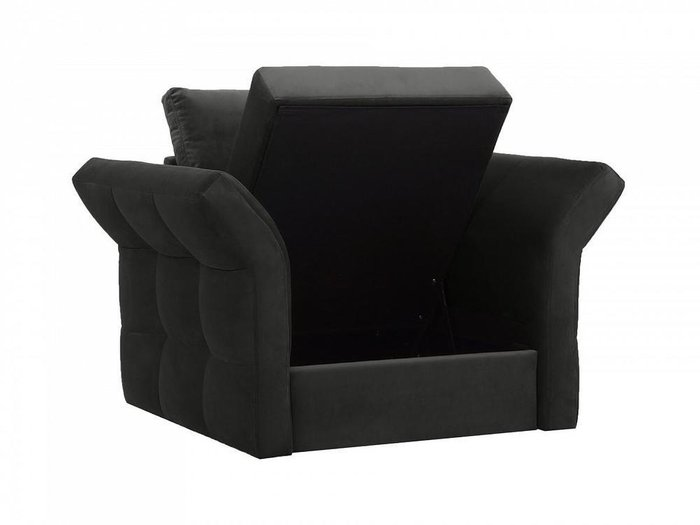 Кресло Wing черного цвета