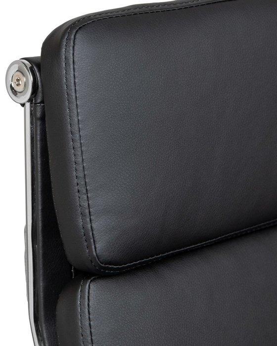 Офисное кресло для руководителей Arnold черного цвета