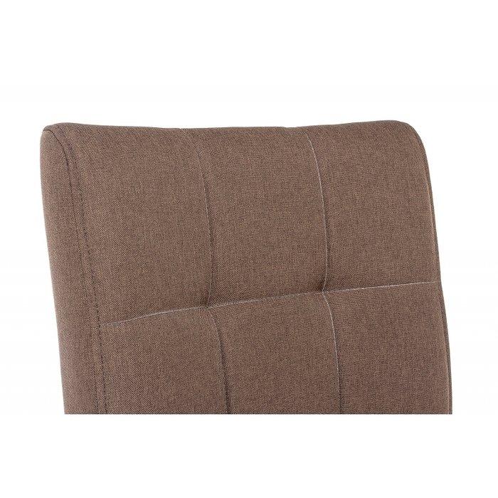 Стул Madina dark walnut fabric brown коричневого цвета