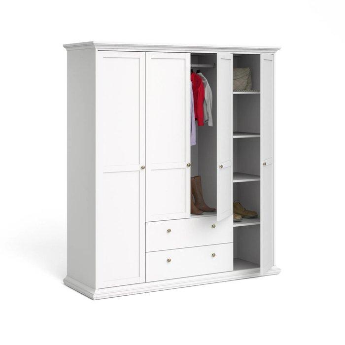 Шкаф Шарли белого цвета