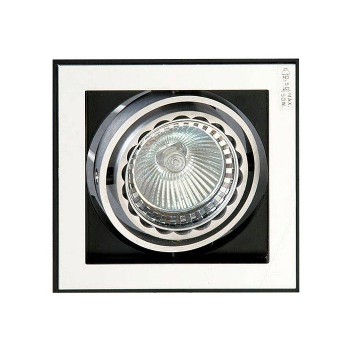 Встраиваемый светильник Schuller TECNO из алюминия и полированного металла