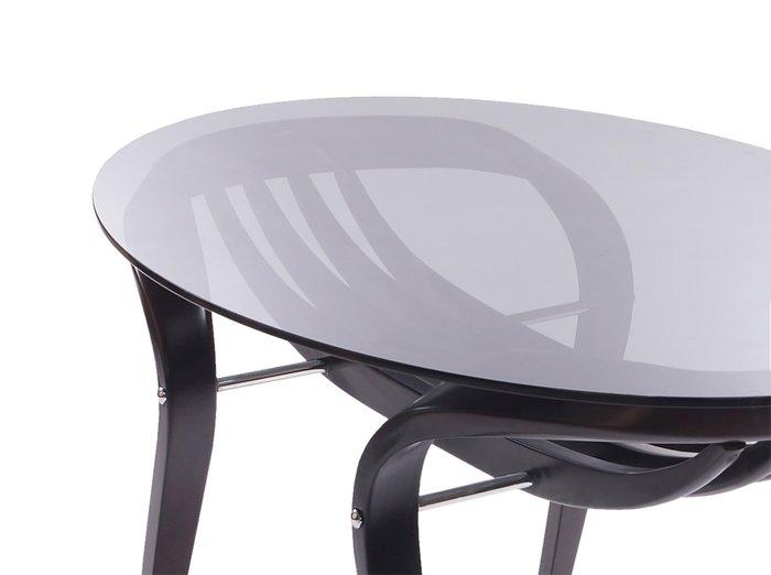 Обеденный стол Apriori со стеклянной столешницей