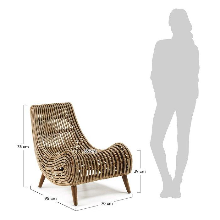 Кресло из ротанга Julia Grup Akit