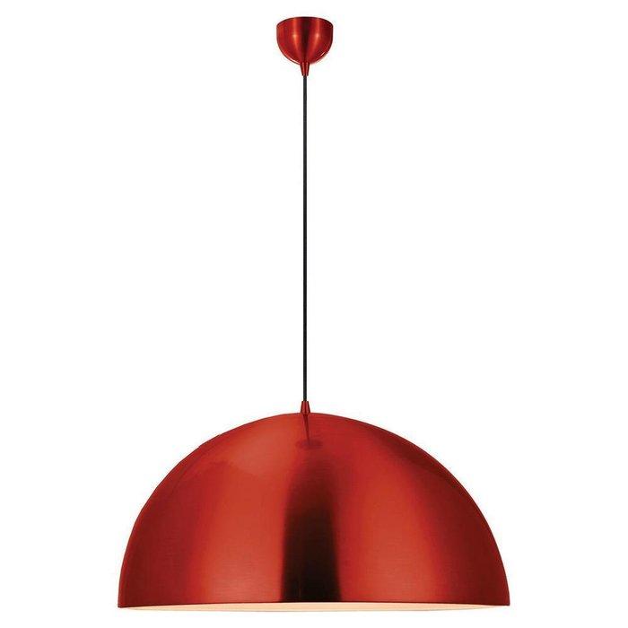 Подвесной светильник красного цвета