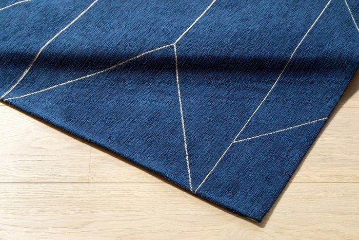 Ковер Marlin темно-синего цвета 160х230