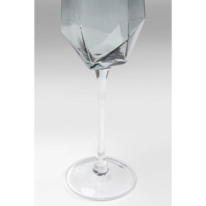 Бокал для шампанского Diamond из стекла