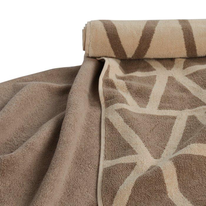 Полотенце банное Essential коричневого цвета 70х140