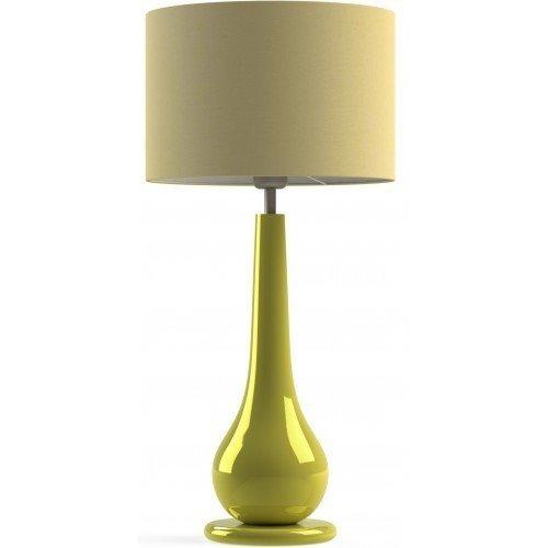 Настольная лампа Lacerta желтая