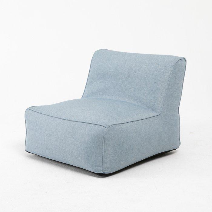 Модульное кресло Lite голубого цвета