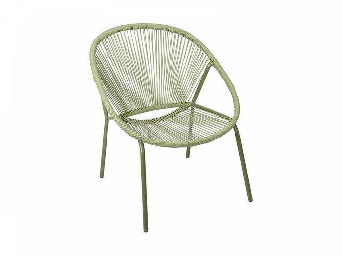 Кресло Breeze Green с металлическим каркасом