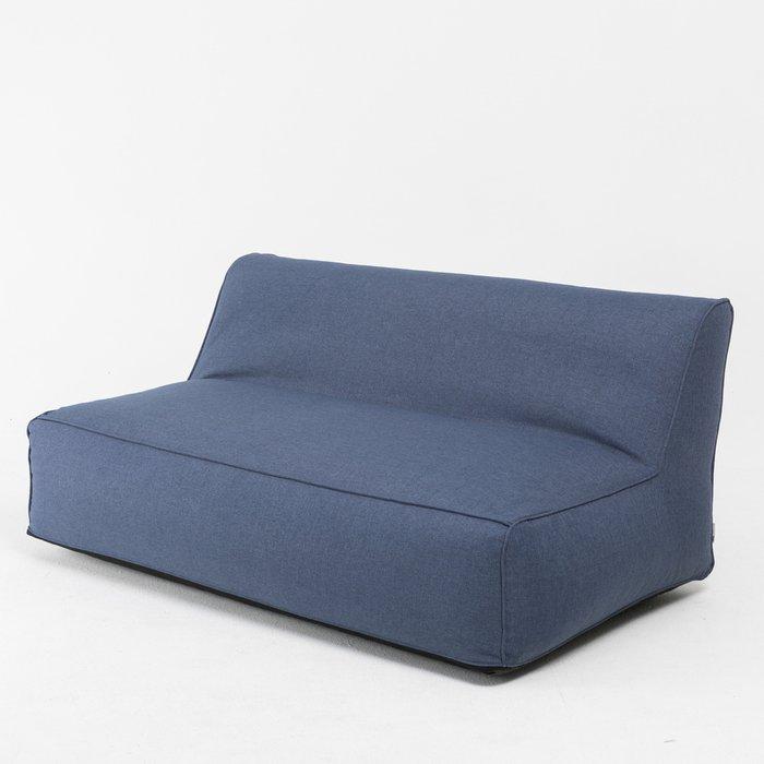 Диван Лонгер Lite темно-синего цвета