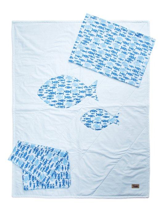Набор детского постельного белья «Рыбки» (0+)