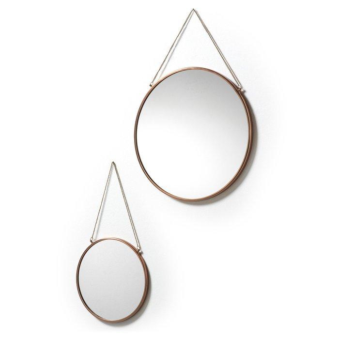 Набор из двух настенных зеркал Niko круглой формы