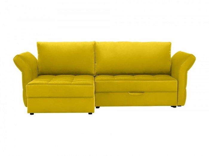 Угловой диван-кровать Wing золотистого цвета