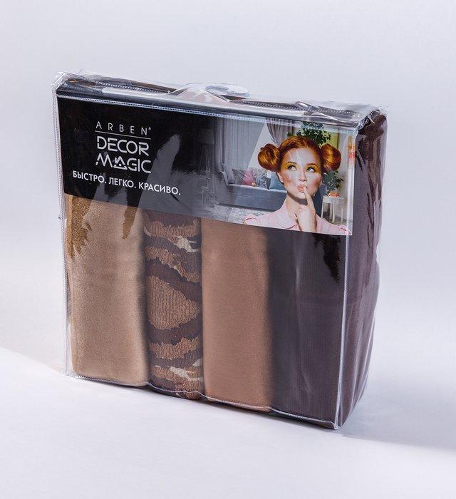 Комплект чехлов для подушек Alina Ethno Honey из полиэстера