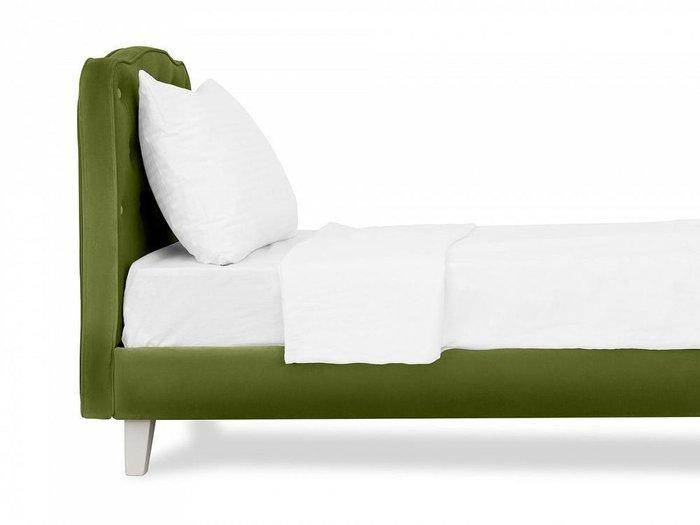 Кровать Candy зеленого цвета 80х160