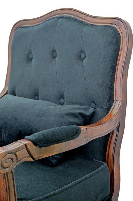 Кресло Nitro button black черного цвета