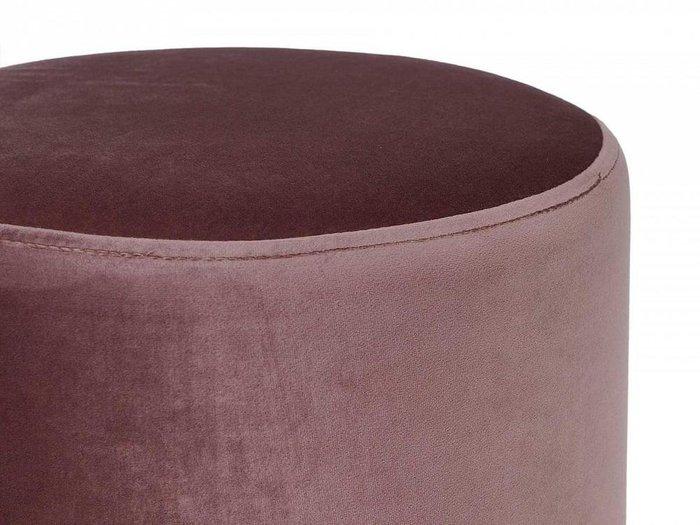 Пуфик Drim серо-розового цвета