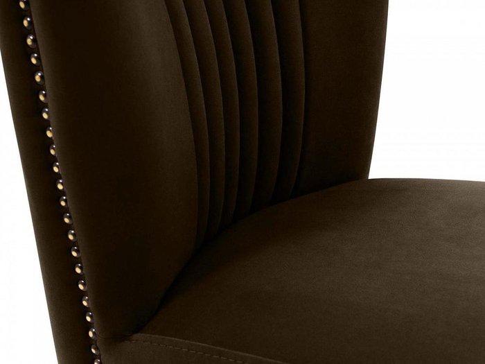 Кресло Barbara темно-коричневого цвета