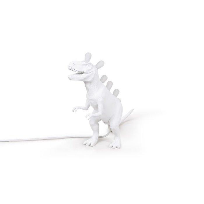 Настольная лампа T-Rex белого цвета